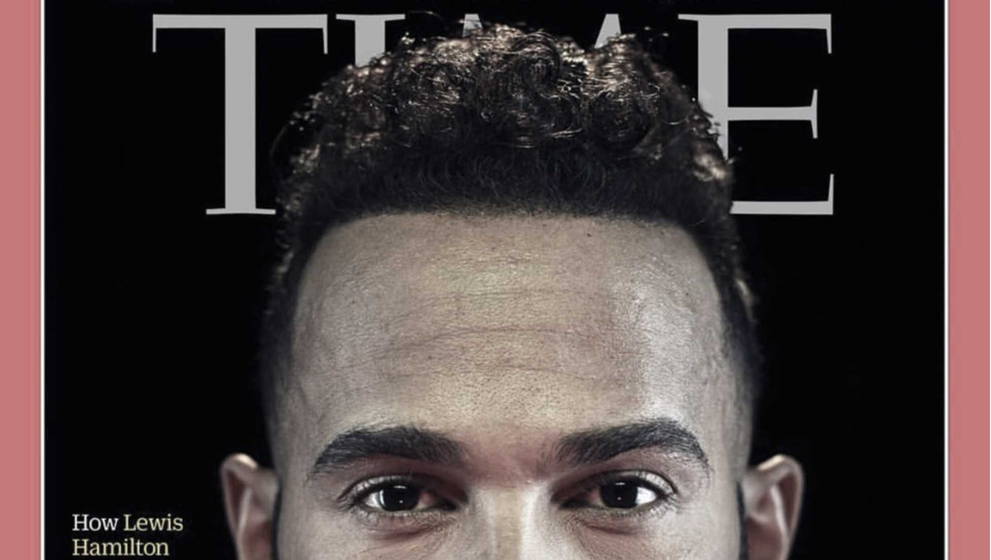 Lewis Hamilton på Time Mag