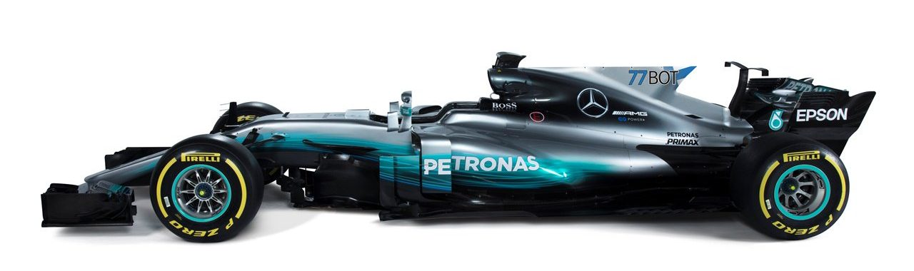 Mercedes W08 77BOT version