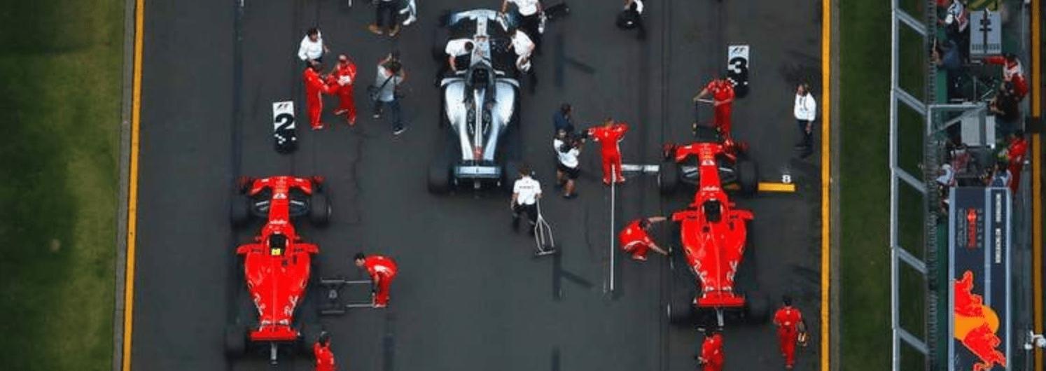 Topp trio Australiens GP grid