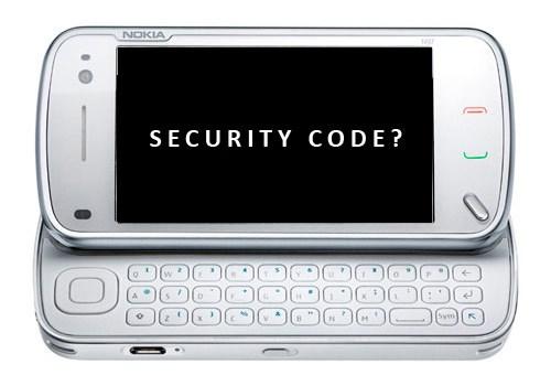 nss pro nokia sécurité code