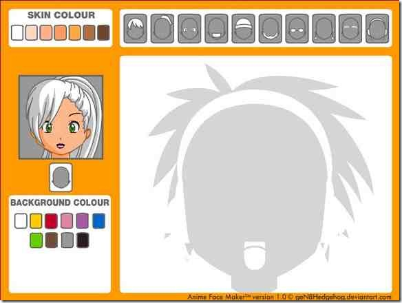 Manga-Avatar-Face-maker