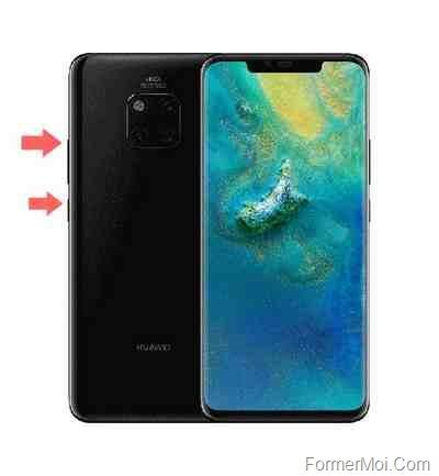 Huawei Mate 20 Pro réinitialiser