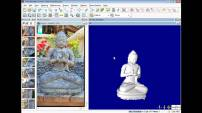 An example of image-based 3D modeling software