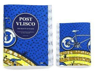 Post-Vlisco book bounded in unique Vlisco-Misprints, Photo: Simone Post