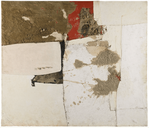 Working With the Given Alberto Burri 19151995  Form