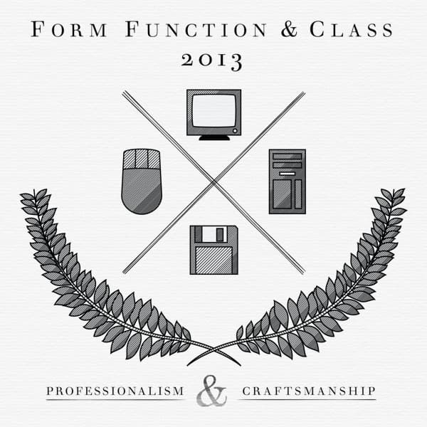 Form Function & Class Scrapbook