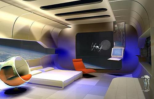 Decoracin e Ideas para mi hogar Bellos dormitorios futuristas