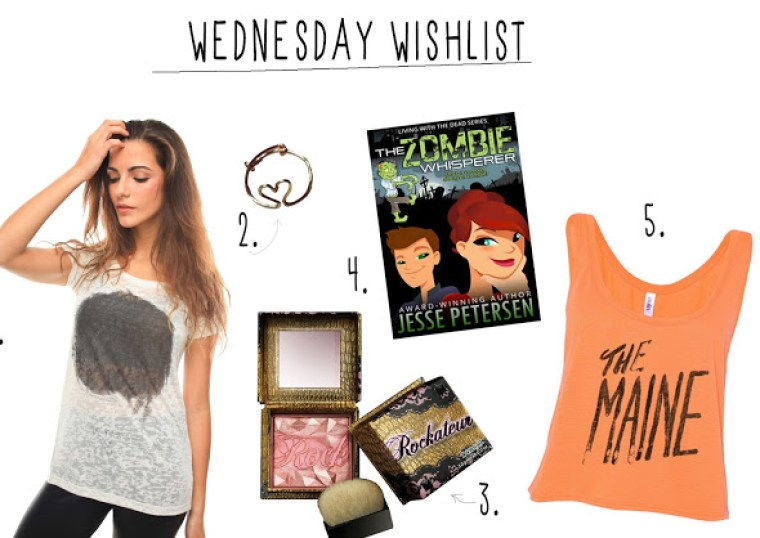 Inspire Magazine Online - UK Fashion, Beauty and Lifestyle Blog: wednesday wishlit, dougie poynter, st kidd, the maine, forever halloween, benefit, little distractions, the zombie whisperer, jesse peterson