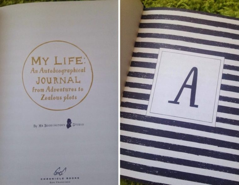 Inspire Magazine Online - UK Fashion, Beauty & Lifestyle blog | Review // My Life: An Autobiographical Journal from Adventures to Zealous plots; Inspire Magazine; Inspire Magazine Online; My Life: An Autobiographical Journal from Adventures to Zealous plots
