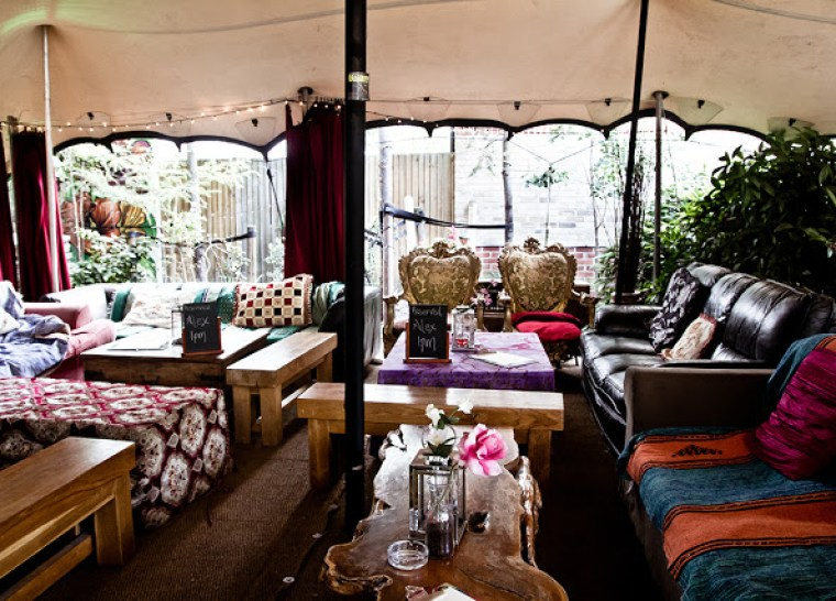 Inspire Magazine Online - UK Fashion, Beauty & Lifestyle blog | Lifestyle | Five Outdoor bars to visit in London this winter; Inspire Magazine; Inspire Magazine Online; The Magic Garden