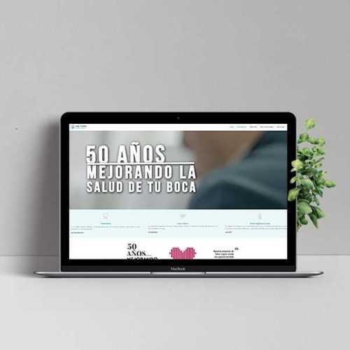 Diseño web Doctores Tomás