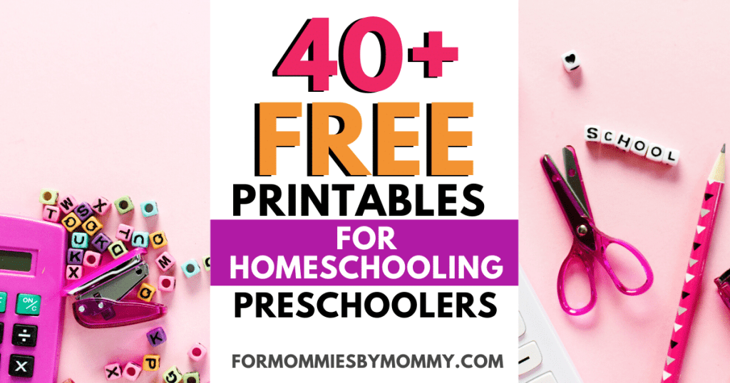 Indoor Activities For Kids: 40+ Free Printables For Preschoolers