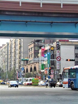 Traffics in Ta-An District, Taipei