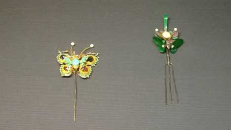 Hairpins made of arts and crafts