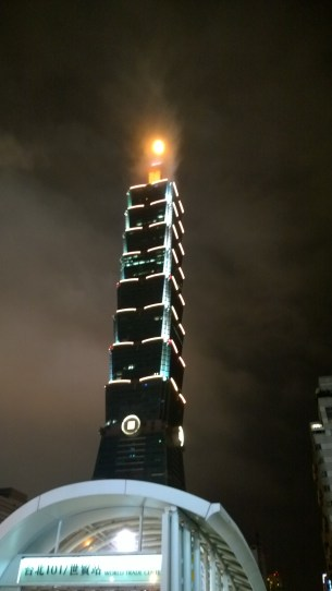 Taipei 101, Night