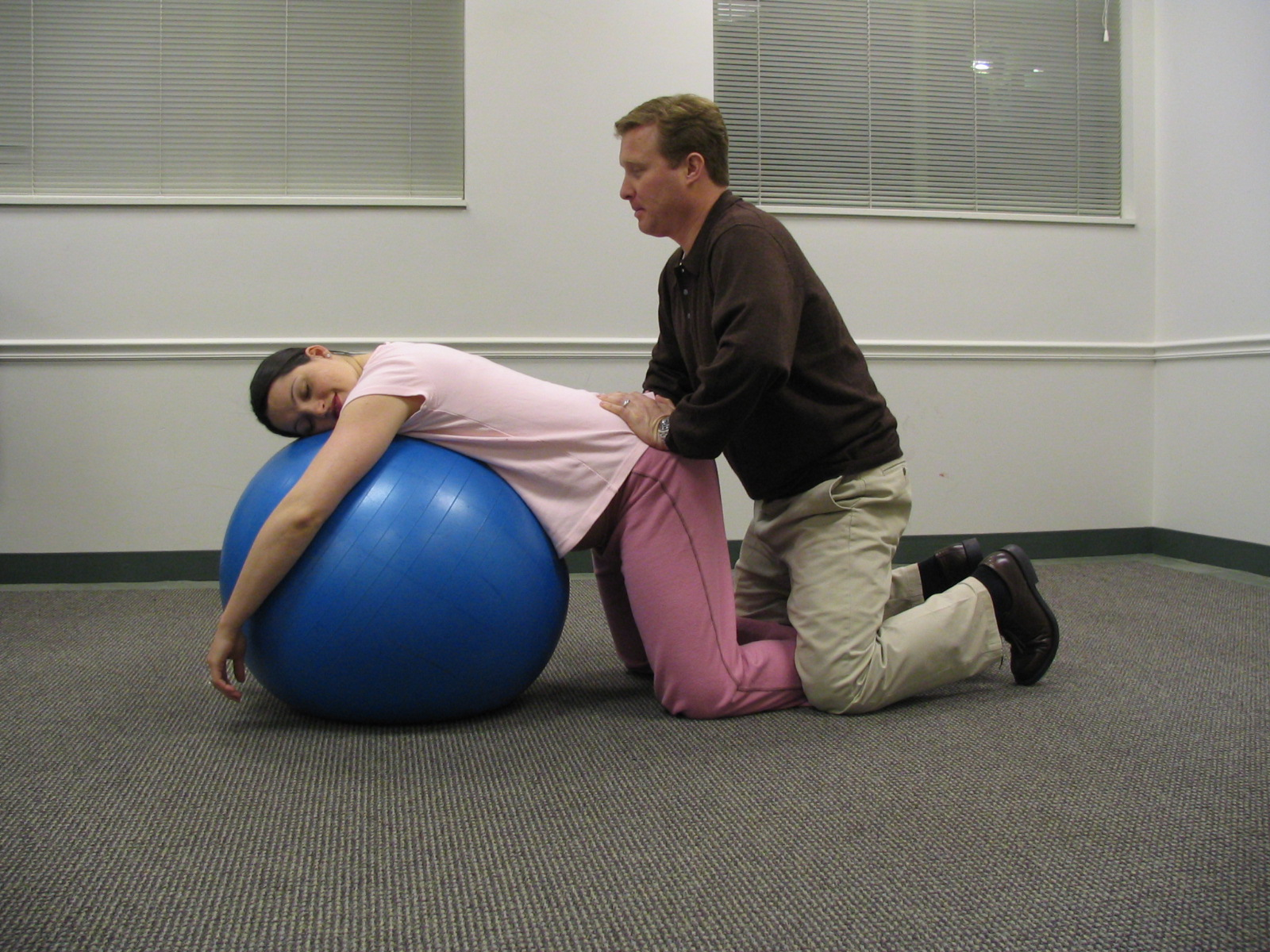 Lamaze for Parents  Blogs  How to Use a Yoga Ball During