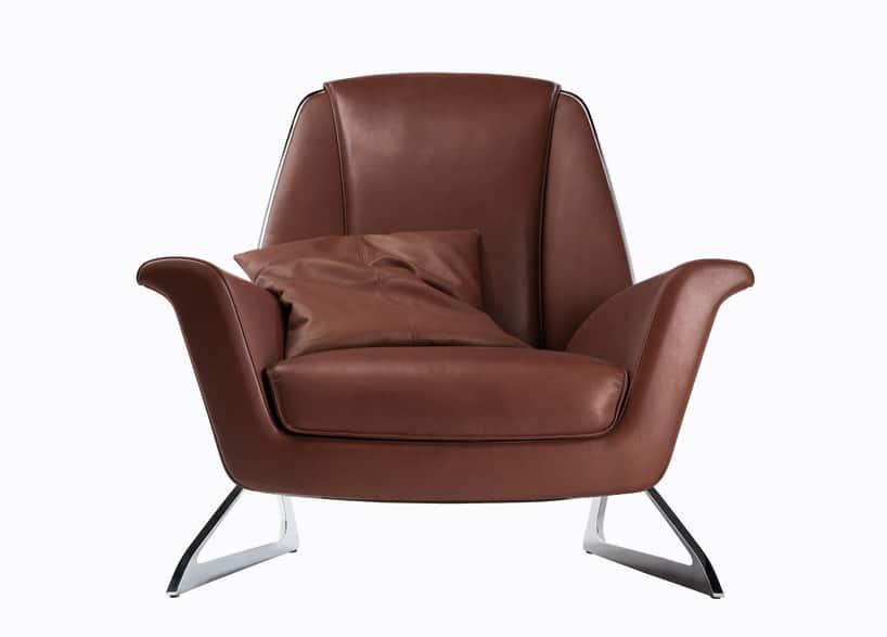 Audi collaborates with poltrona frau to create luft armchair for Poltrona studio