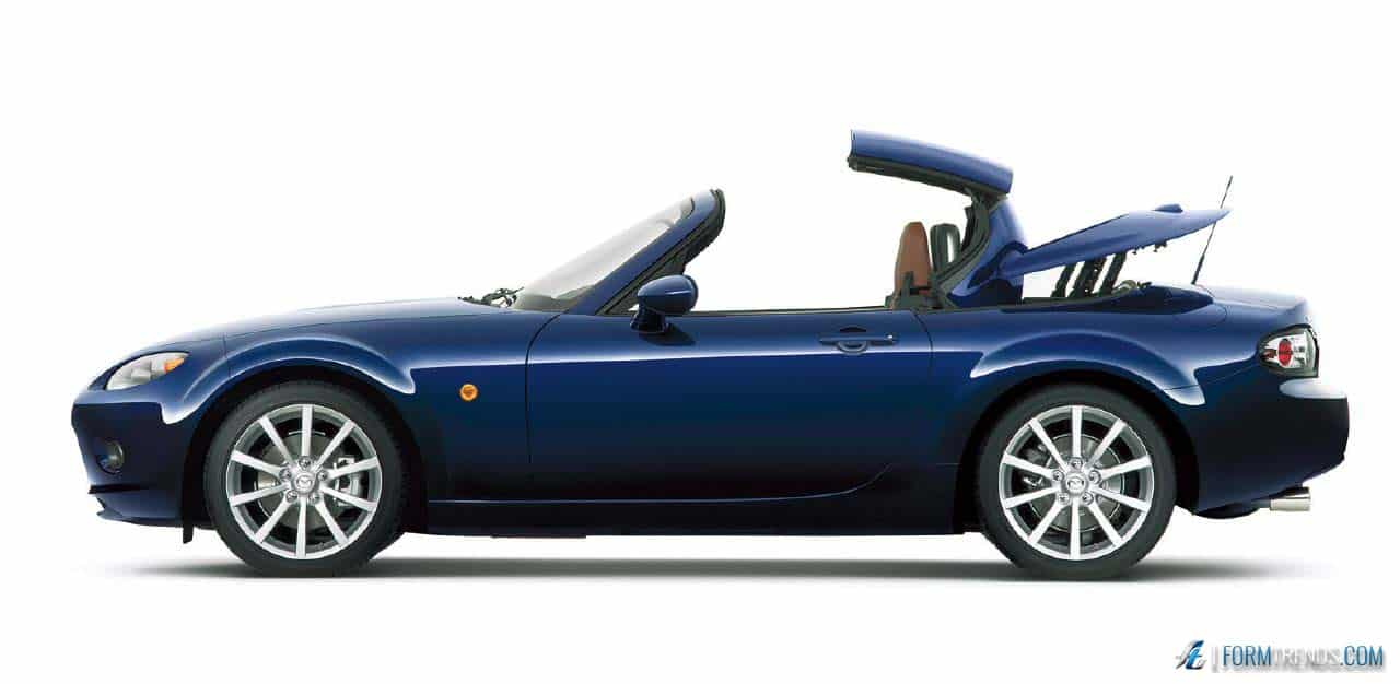 revisiting the mazda mx-5 roadster coupes