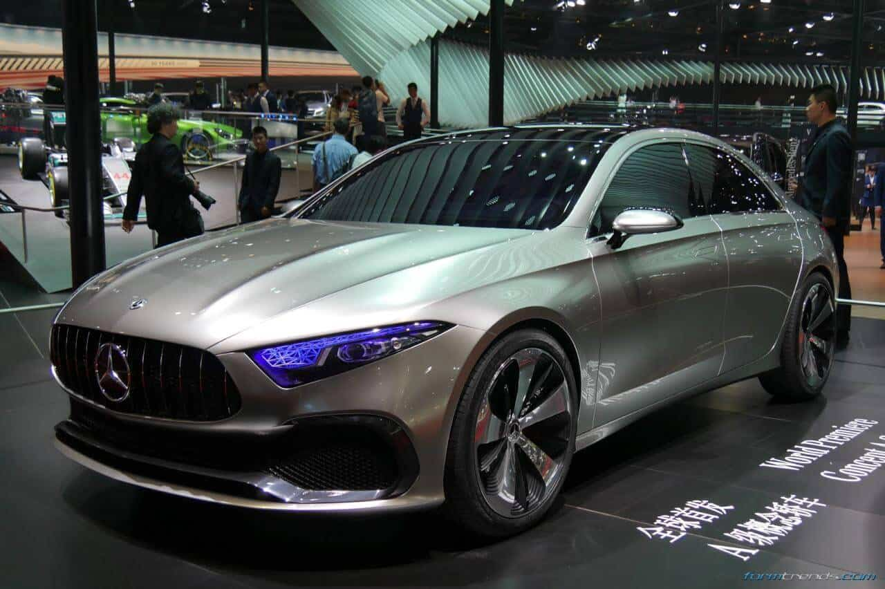 Mercedesbenz Concept A Sedan Previews Production Model