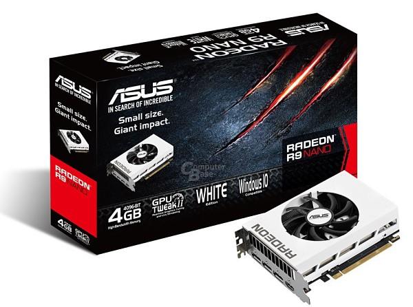 ASUS Radeon R9 Nano Blanco