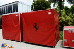 Crates for Scuderia Ferrari
