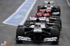 Pastor Maldonado, Williams F1 Team, FW35