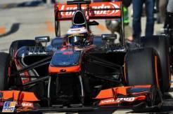 Jenson BUtton, McLaren Mercedes, MP4-28