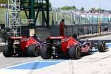 Daniil Kvyat and Jean-Eric Vergne, Scuderia Toro Rosso, STR9