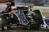 Felipe Massa (Williams F1 Team, FW37) and Nico Hülkenberg (Force India F1 Team, VJM08)