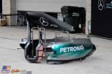Body Work for the Mercedes AMG F1 Team, F1 W06 Hybrid
