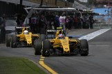 Jolyon Palmer and Kevin Magnussen, Renault F1 Team, RS16