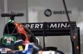 Detail of the Manor Racing Team MRT05