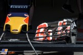 A Detail of the Front Wing for the Scuderia Toro Rosso STR11