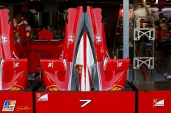 Body Work for the Scuderia Ferrari SF16-H