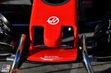 A Detail of the Front Wing for the Haas F1 Team VF17