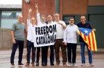 Los presos del «procés» salen de la cárcel tras concederles el indulto