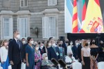 Los Reyes de España homenajean a todas las víctimas de Covid-19