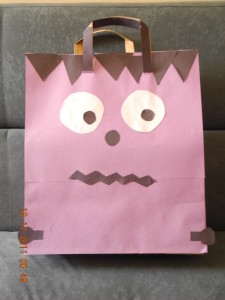 Trick or Treat bag craft