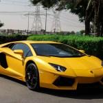 Lamborghini Aventador Lp700 4 50th Anniversary 2013 Gcc Yellow Matte Formula Motors Llc Dubai