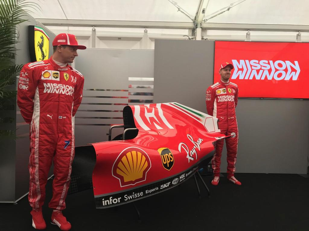 Mission Winnow Logo Added To Ferrari S F1 Livery And