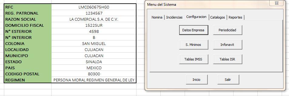 Nomina en Excel ( Actualizada a UMA 2017 )
