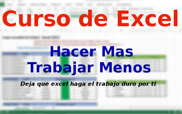 Curso de Excel parte 11 – Cálculos Anuales