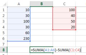 guia-formulas-excel-restar-rangos