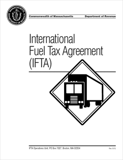 Form IFTA Handbook Fillable IFTA Handbook