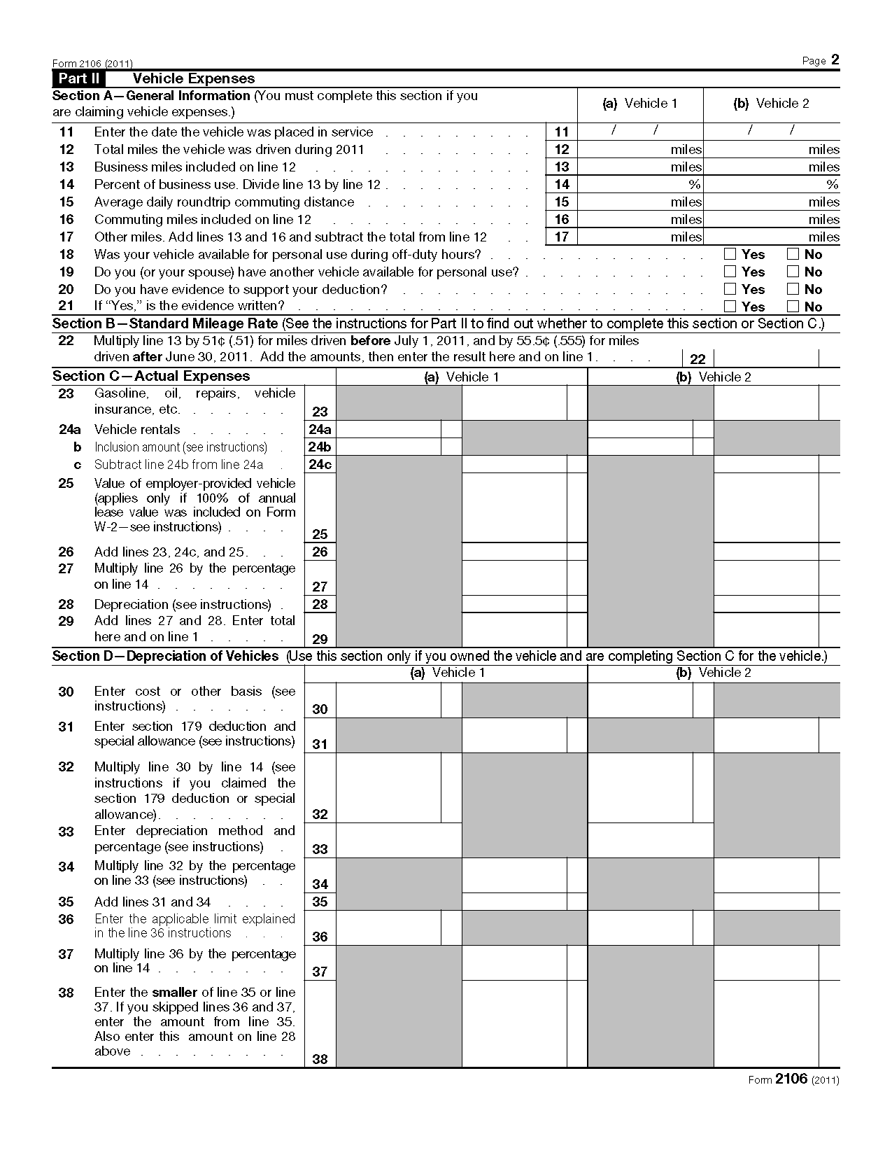 Business Expense Form