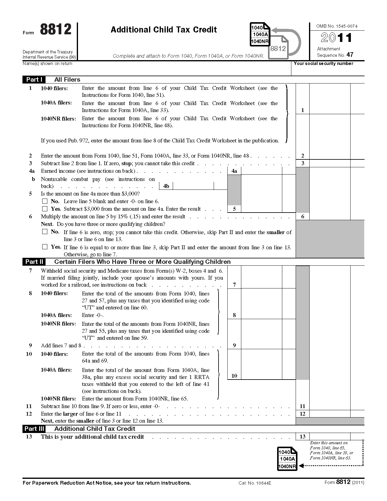 What Do You Need For The Irs Social Security Worksheet