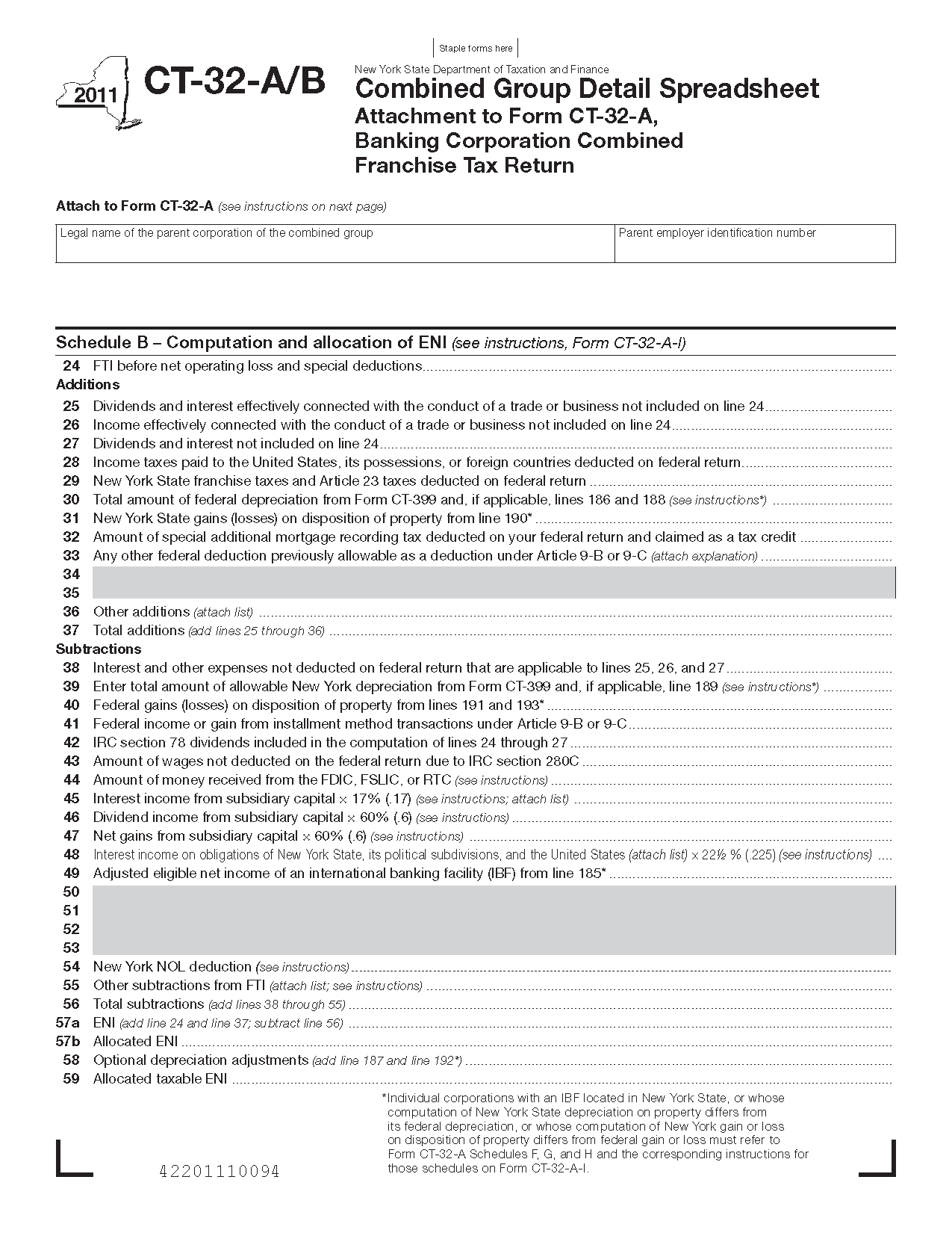 Form Ct 32 A B Combined Group Detail Spreadsheet