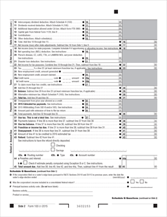 100 Form California Corporation Franchise or Income Tax