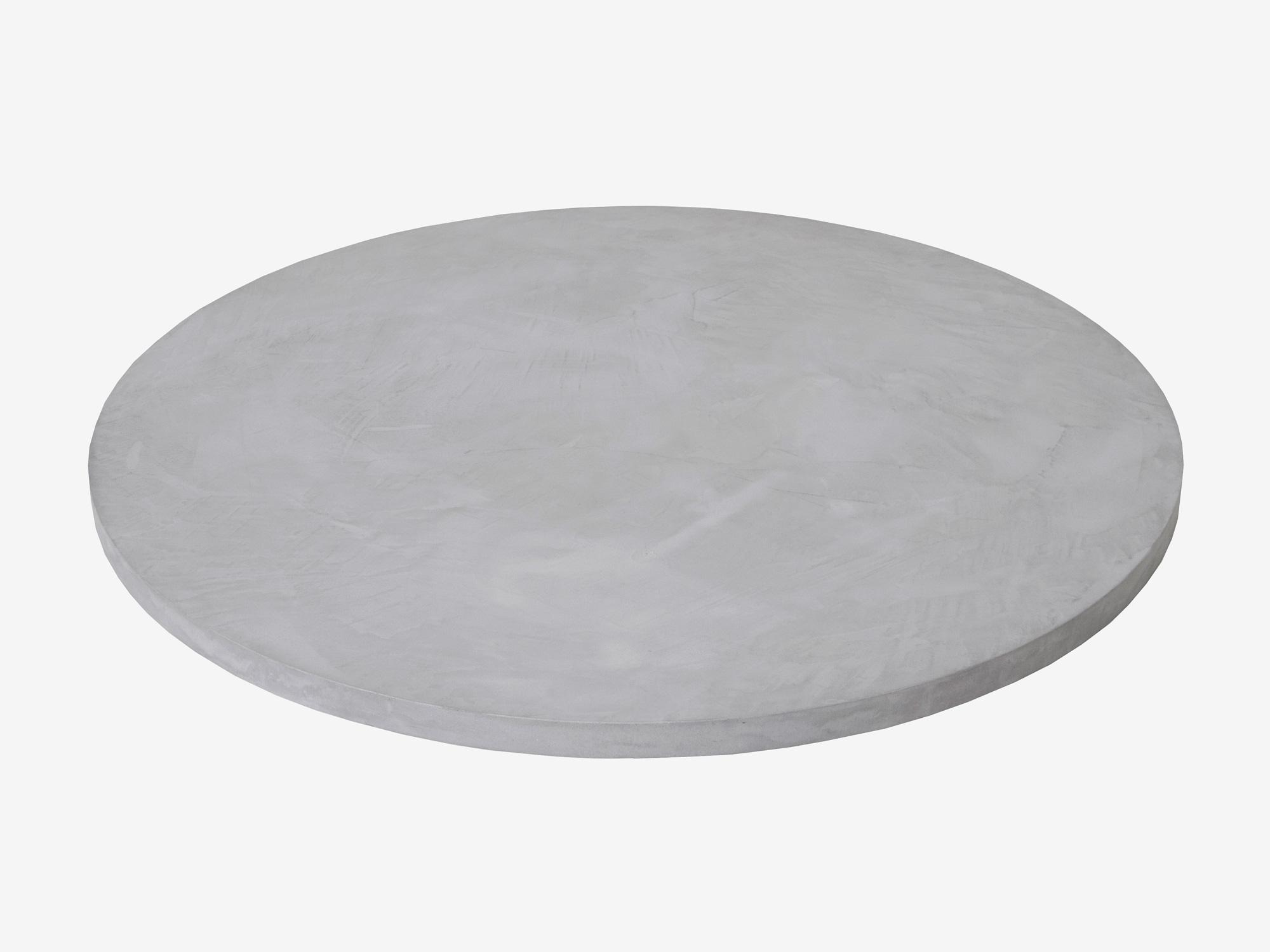 Ronde eettafel betonlook Ozzy  FRN maatwerk meubelen