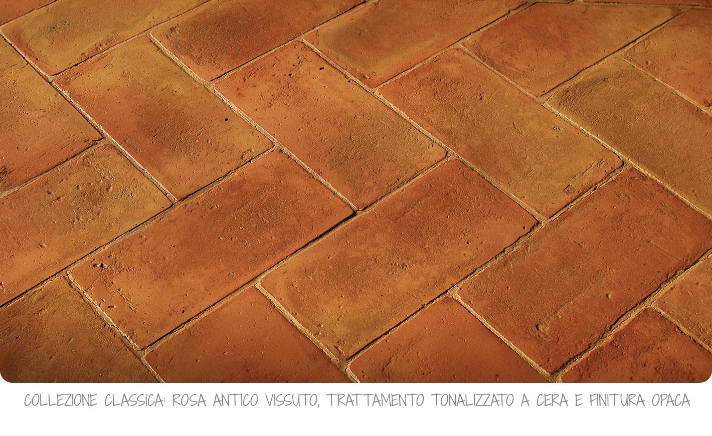 Piastrelle da esterno tipo cotto scegliere il pavimento della